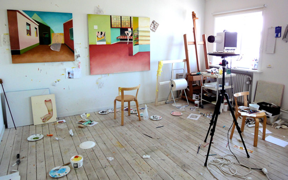 Jens Fänge studio